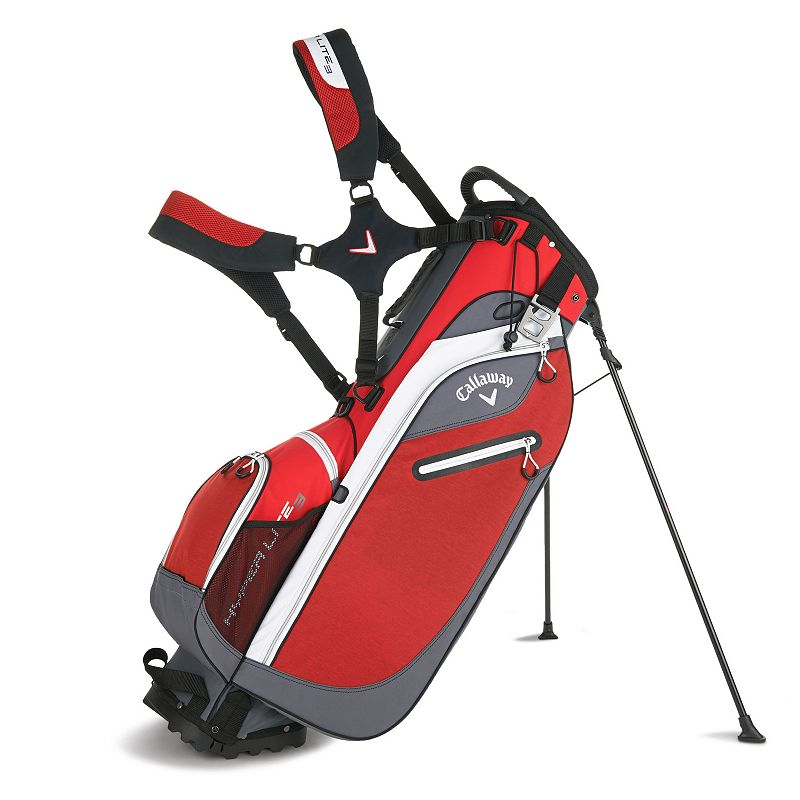 Callaway Hyperlite 3 Stand Bag, Red
