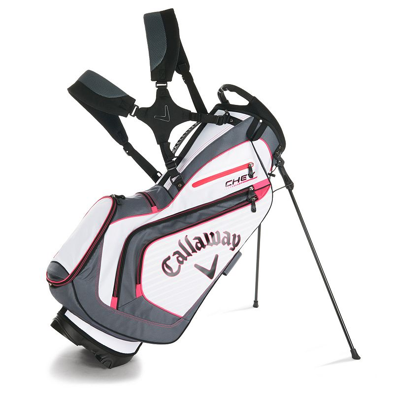 Callaway Chev Stand Bag, Grey (Charcoal)