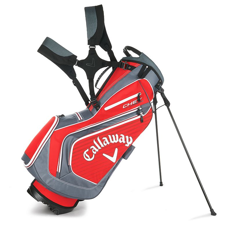 Callaway Chev Stand Bag, Red