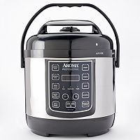 Aroma Turbo Rice 2.5-Liter Stainless Steel Electric Pressure Cooker