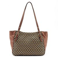 Mondani Lea Patterned Double Shoulder Bag