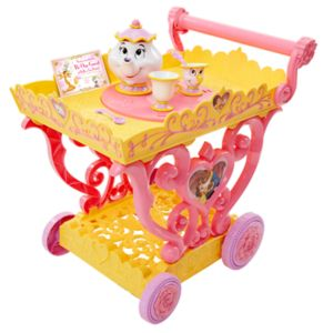 Disney's Beauty and The Beast Belle's Tea Cart Set
