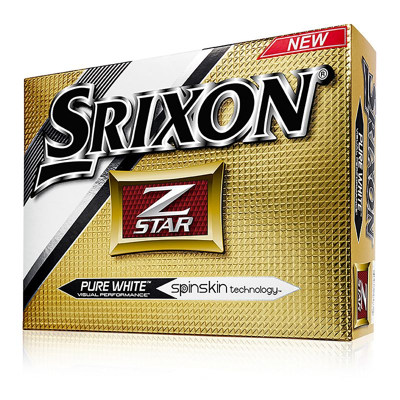 Srixon 2016 Z-Star Golf Balls, White