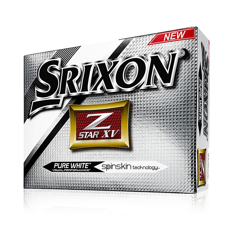 Srixon 2016 Z-Star VX Golf Balls, White