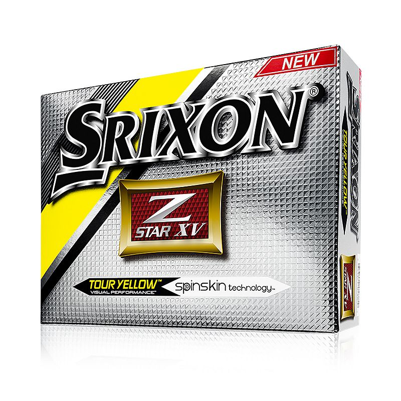 Srixon 2016 Z-Star VX Golf Balls, Yellow
