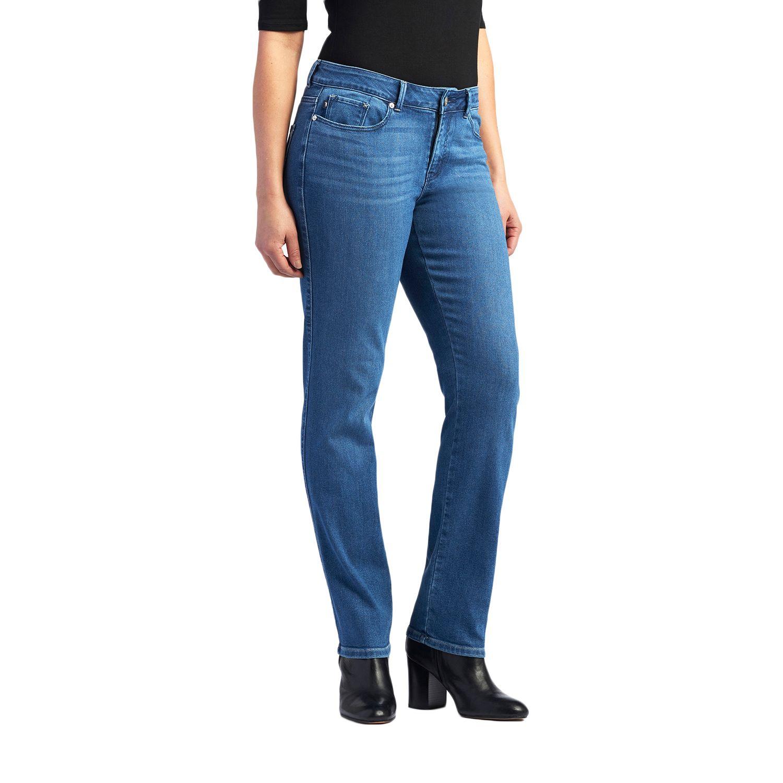 Womens Lee Modern Series Curvy Fit Straight-Leg Jeans
