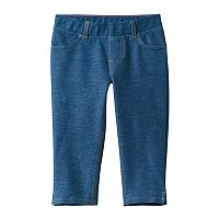 Toddler Girl Jumping Beans® Faux Denim Capri Jeggings