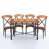 Baxton Studio Broxburn Dining 5-piece Set