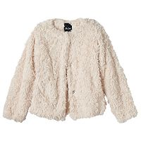 Girls 8-14 Me Jane Faux-Fur Jacket