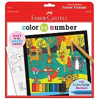 Faber-Castell Forest Friends Color By Number Kit