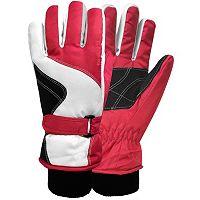 Girls 4-16 Igloos Colorblock Gloves