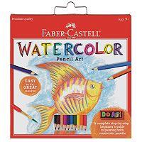 Faber-Castell Do Art Watercolor Pencil Set