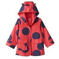 Toddler Girl Carter's Ladybug Transitional Jacket