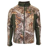 Men's Walls Camo Softshell Windbreaker Jacket