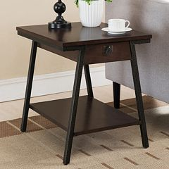 Leick Furniture Modern End Table by