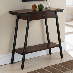 Leick Furniture Modern Hall Console Table