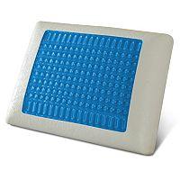 Pure Rest Blue Gel Top Memory Foam Pillow