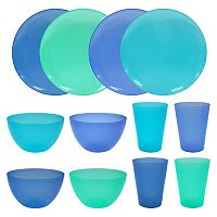 Celebrate Summer Together 12-pc. Cool Blue Dinnerware Set