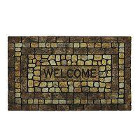 Mohawk® Home Stone Garden ''Welcome'' Doormat - 18'' x 30''