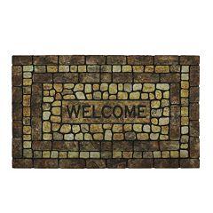 Mohawk Home Stone Garden ''Welcome'' Doormat 18'' x 30''