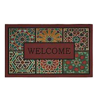 Mohawk® Home Geometric Tiles ''Welcome'' Doormat - 18'' x 30''