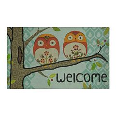 Mohawk Home Forest Owl ''Welcome'' Doormat 18'' x 30''