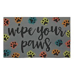 Mohawk Home ''Wipe Your Paws'' Doormat 18'' x 30''