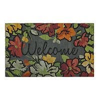 Mohawk® Home Water Garden Floral ''Welcome'' Doormat - 18'' x 30''