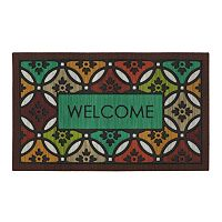 Mohawk® Home Clementine Spice ''Welcome'' Doormat - 18'' x 30''