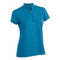 Plus Size Nancy Lopez Ripple Short Sleeve Golf Polo