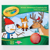 Kohl's Cares® Crayola Winter Adventure Holiday Coloring Kit