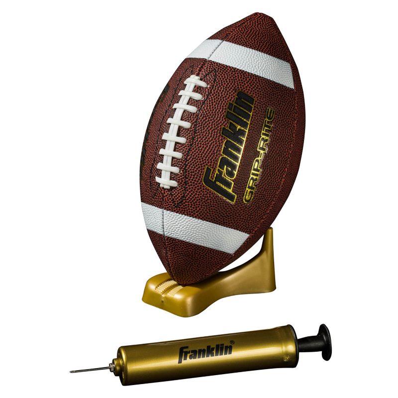 Youth Franklin Sports Junior Grip-Rite Pump & Tee Football Set, Multicolor thumbnail