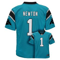 Boys 8-20 Nike Carolina Panthers Cam Newton Game NFL Replica Jersey