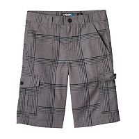 Boys 8-20 Tony Hawk® Plaid Ripstop Cargo Shorts