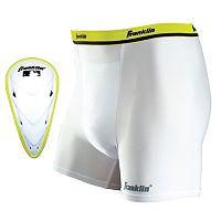 Youth Franklin Sports Flexpro Compression Short & Cup Set