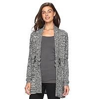 Women's AB Studio Button Open-Front Cardigan