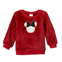 Disney's Minnie Mouse Baby Girl Plush Pullover by Jumping Beans®