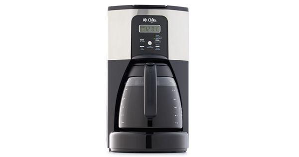 Kohls Programmable Coffee Maker : Mr. Coffee Design To Shine 12-Cup Programmable Coffee Maker