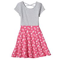 Girls 4-10 Jumping Beans® Abstract Skater Dress