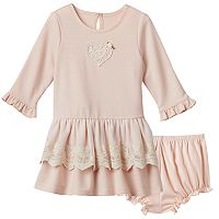 Baby Girl Marmaletta Classics Lace Detailed Knit Dress