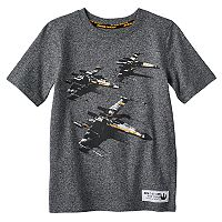 Boys 4-7x Star Wars a Collection for Kohl's X-Wing Fighter Applique Tee