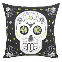 Essentials Tattoo Skull Throw Pillow
