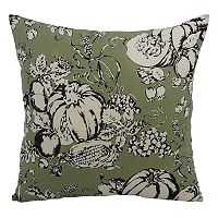 Essentials Pumpkin Toile Throw Pillow