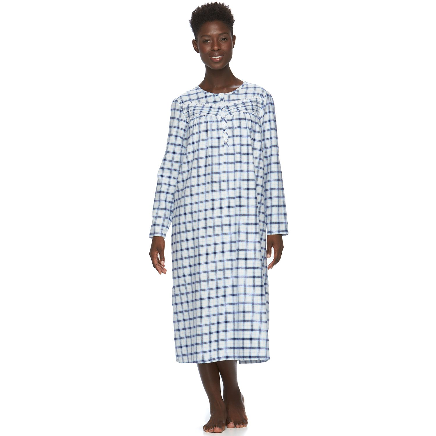 Womens Croft & Barrow? Pajamas: Flannel Nightgown