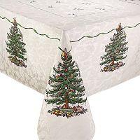 Spode Tree Square Christmas Tree Tablecloth - 52