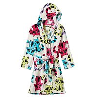 Girls 4-12 Cuddl Duds Hooded Animal Bath Robe