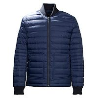 Men's Neo-I by Orobos Modern-Fit Reversible Quilted Bomber Jacket