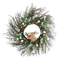 Celebrate Easter Together Bunny Wreath