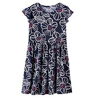 Girls 4-10 Jumping Beans® Print Tee Dress