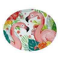 Celebrate Summer Together Melamine Havana Flamingo Platter